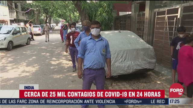 FOTO: 5 de julio 2020, india registra cifra record de contagios diarios de covid