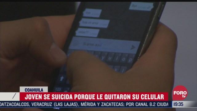 apego a celular, joven de saltillo se suicida porque su mama le quitó su celular