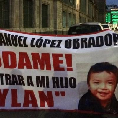 AMLO asegura que avanza investigación de Dylan, niño secuestrado en Chiapas