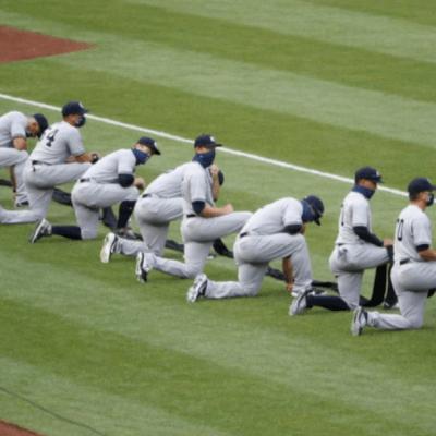 Nacionales y Yankees de NY se arrodillan contra el racismo en EEUU