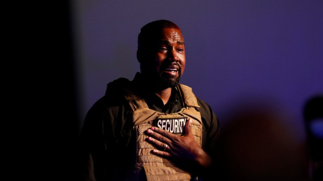 Kanye West, candidato, discurso