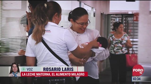 La leche materna, el alimento milagro