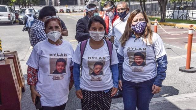 Madre de Dylan desconoce a Ofelia 'N', mujer involucrada en rapto de su hijo