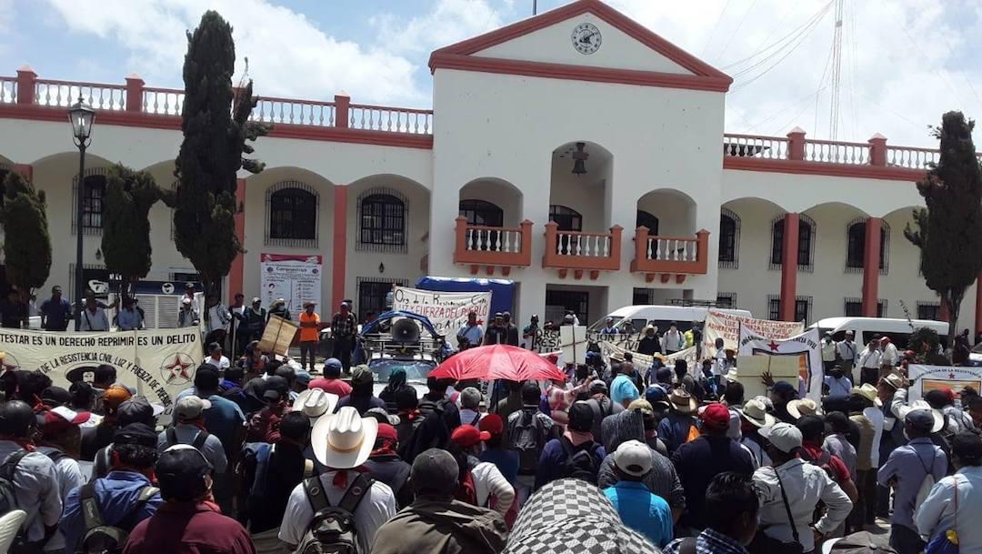 Miles de Personas en Marcha Chiapas, Foto