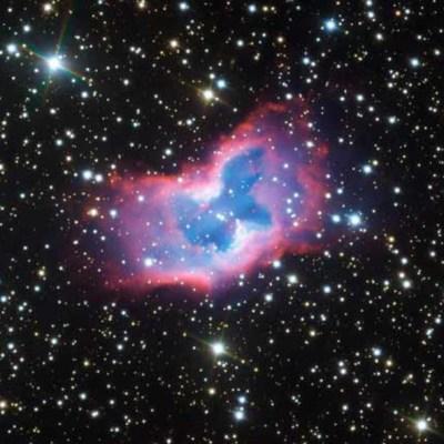 Telescopio de ESO capta nítidas imágenes de una 'mariposa espacial'