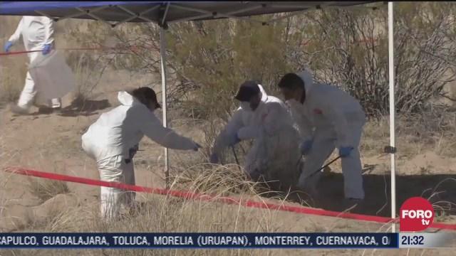 busqueda de personas desaparecidas en fosas clandestinas de México