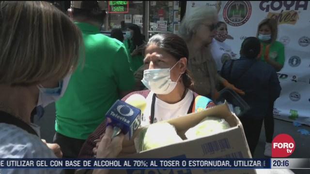 migrantes mexicanos ayudan a afectados por coronavirus en Nueva York