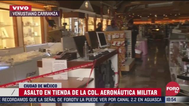 movilizacion policiaca por asalto en tienda departamental en cdmx