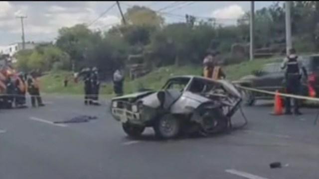 Mueren al menos cinco personas tras accidente en la Querétaro-San Luis Potosí