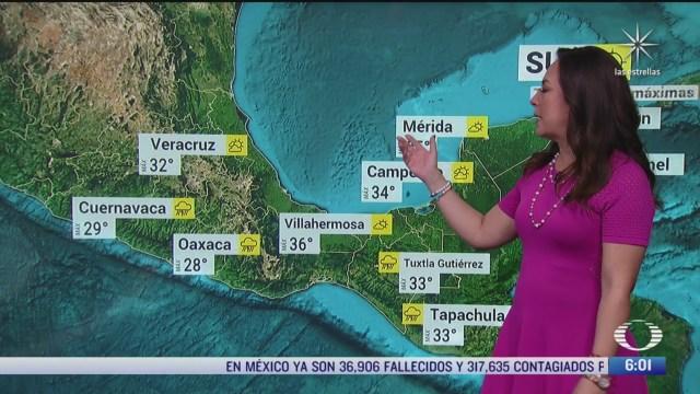 onda tropical 17 provocara lluvias en el centro y sur de mexico