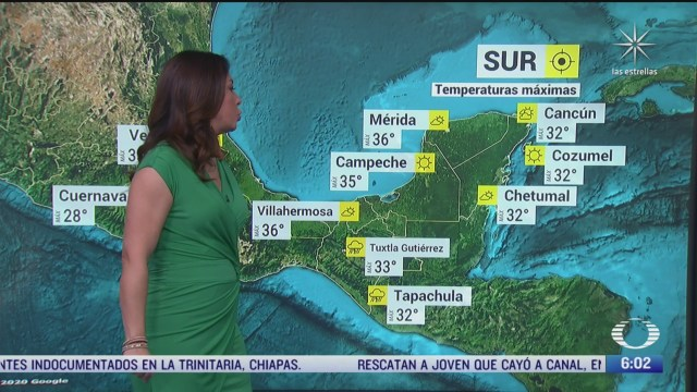 ondas tropicales provocaran lluvias sobre el occidente y sur de mexico
