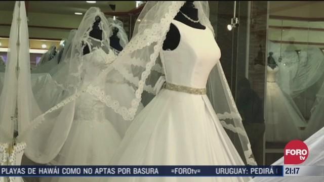 calle de la novias en CDMX impactada economicamente por la pandeia de coronavirus