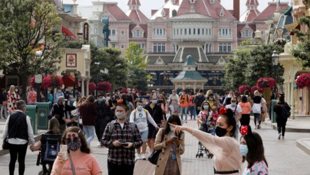 Disneyland París reabre tras cierre de 4 meses por COVID-19
