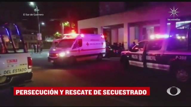 rescate de dos personas secuestradas en Acapulco Guerrero