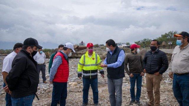 Por cuarto día, continúa la búsqueda de Lluvia Estefanía en el arroyo 'El Saucillo', en Ramos Arizpe