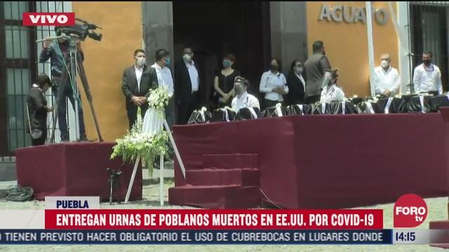 reciben con mariachis cenizas de mexicanos fallecidos en eeuu por coronavirus