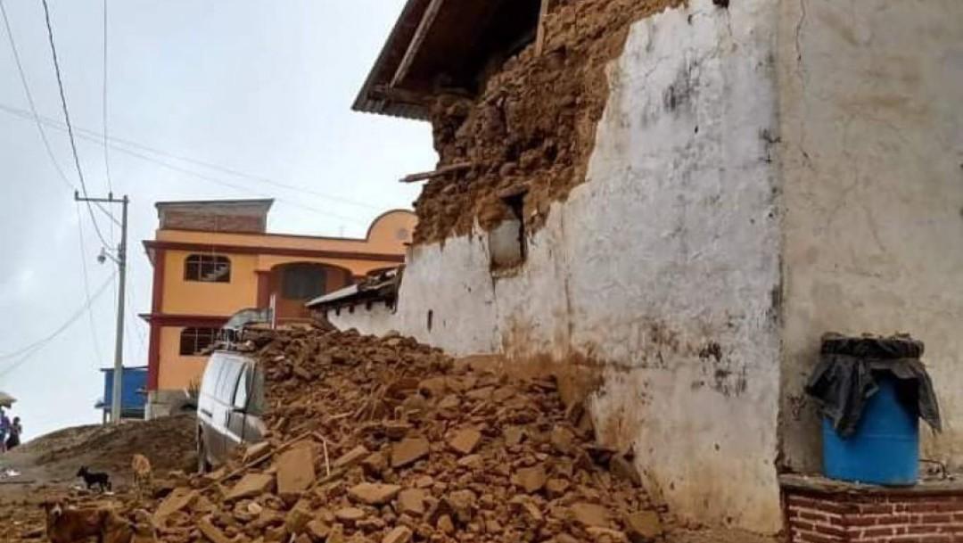 Reciben declaratoria de desastre 157 municipios de Oaxaca tras sismo de magnitud 7.4