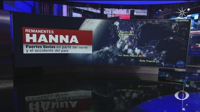 el clima para mañana y las lluvias que se prevén tras el paso de la tormenta Hanna