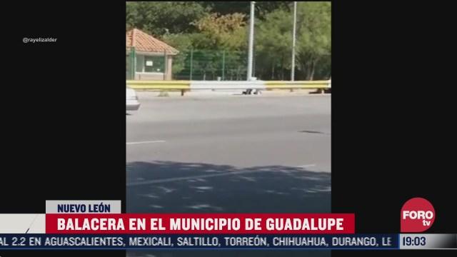 FOTO: 7 de julio 2020, reportan balacera en guadalupe nl
