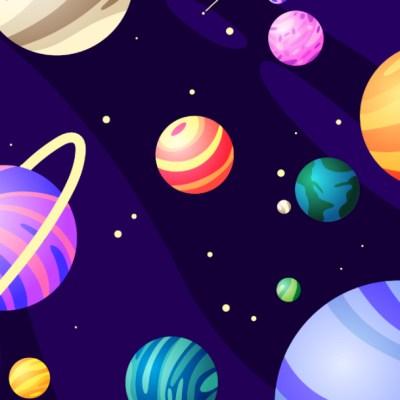 Reto visual: ¿Puedes encontrar las canicas entre los planetas?
