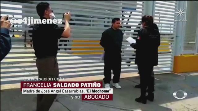 el mochomo y el audio del presunto soborno entre su madre, abogado y juez
