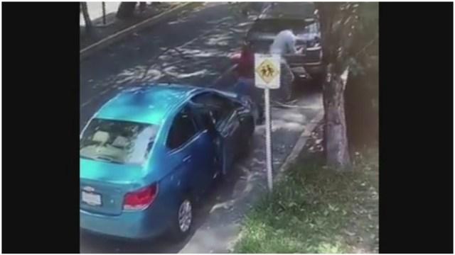 Robo de autopartes en la Ciudad de México