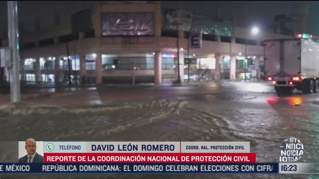 se pronostican lluvias en casi todo el pais proteccion civil