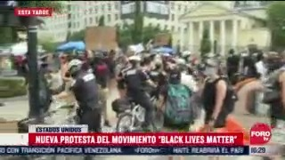 FOTO: 4 de julio 2020, se registra nueva protestas del movimiento black lives matter en washington