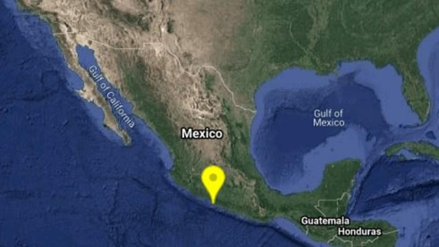 Se registra sismo de magnitud 4.6 con epicentro en Petatlán, Guerrero