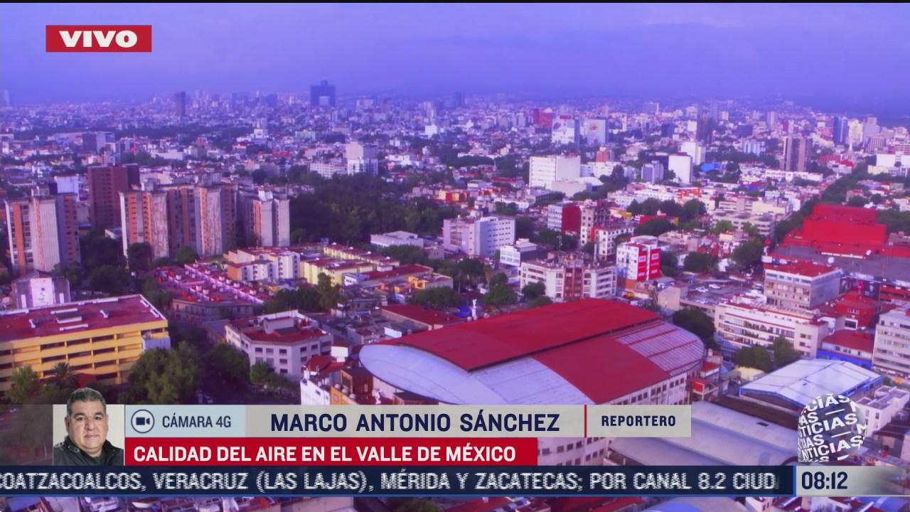 FOTO: 4 de julio 2020, se reporta buena calidad del aire en la ciudad de mexico