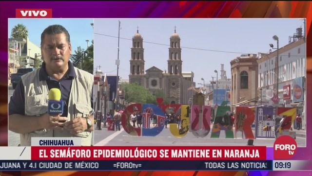 FOTO: 4 de julio 2020, semaforo epidemiologico en chihuahua se mantiene en naranja