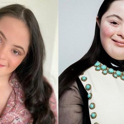 Modelo con Síndrome de Down formará parte de importante línea de maquillaje