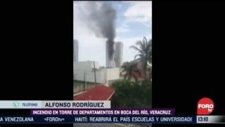 FOTO: 5 de julio 2020, television prendida habria provocado incendio en departamento de boca del rio