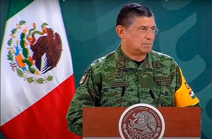 Titular de Sedena afirma que, durante mayo, en Guanajuato hubo solo dos eventos de extorsión