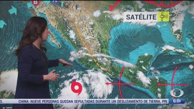tormenta tropical cristina provocaran lluvias fuertes en el occidente y sur de mexico