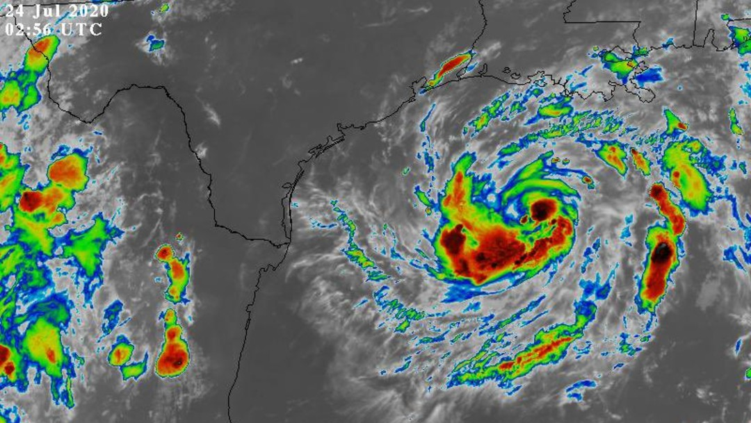 Tormenta tropical 'Hanna' llegará a costa de Texas el sábado