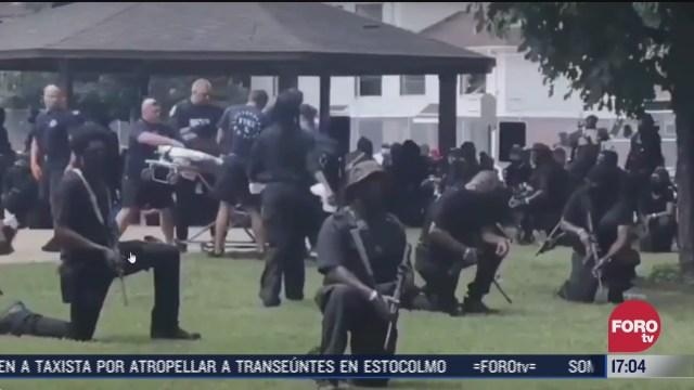 FOTO: 25 de julio 2020, tres personas resultan heridas de bala durante protestas en estados unidos