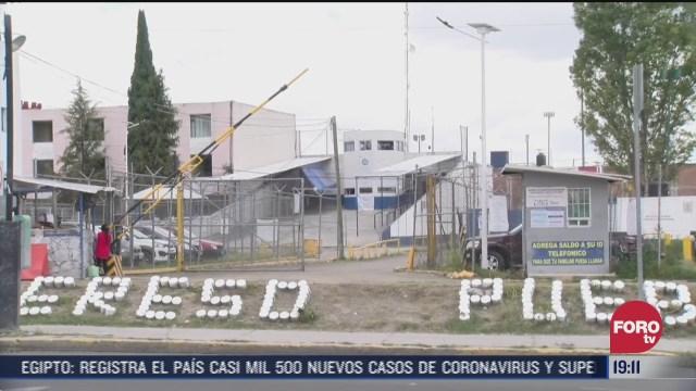 penal de Puebla, tres reos mueren por tomar gel antibacterial en puebla