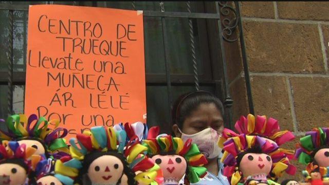 trueque opcion de las comunidades indigenas para subsistir en la paralizacion de la economia