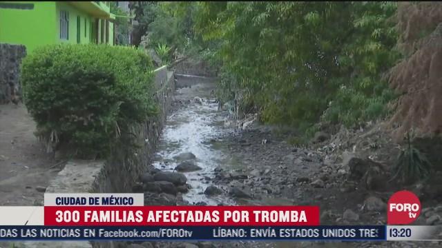 300 familias afectadas en xochimilco