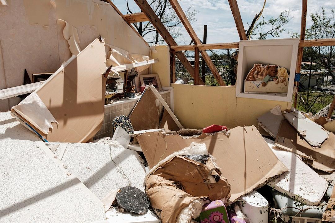 Fotos del huracán Laura por el sur de Estados Unidos