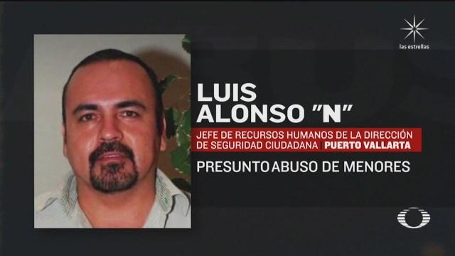 """Julio Luis Alonso """"N"""", funcionario de Puerto Vallarta acusado de abuso sexual de menores en Puerto Vallarta"""