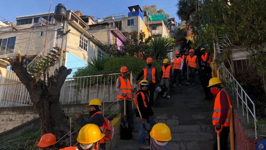 Instalarán escaleras eléctricas en barrancas y zonas altas de Álvaro Obregón