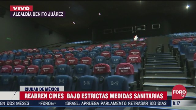 alistan reapertura de la cineteca nacional con estrictas medidas sanitarias