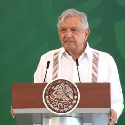 El presidente Andrés Manuel López Obrador en conferencia de prensa matutina desde Los Cabos, Baja California Sur.