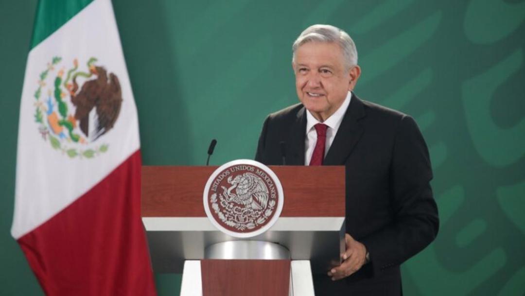 El presidente de México, Andrés Manuel López Obrador en conferencia de prensa, desde Zacatecas