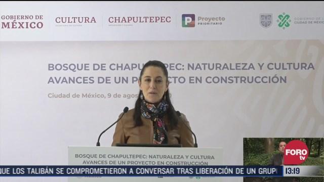 arranca restauracion del bosque de chapultepec