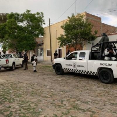 Aseguran arsenal en una finca en Lagos de Moreno, Jalisco; hay dos detenidos