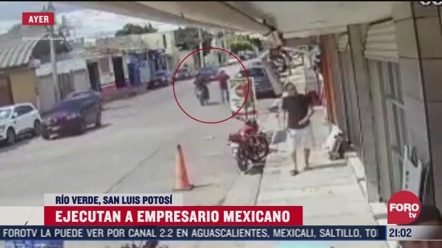 asesinan a empresario en san luis potosi