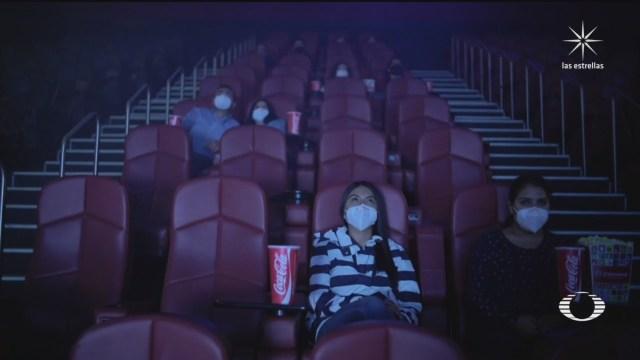 cines en CDMX reanudan actividades tras pandemia de coronavirus
